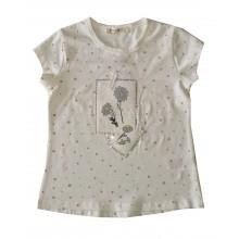 Лятна блуза за момиче Цветя 92-116