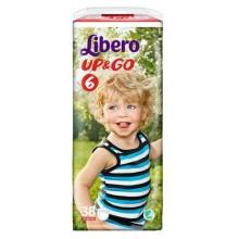Либеро гащи - Libero Up&Go 6 гащи 13-20кг. 38бр.