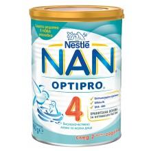 Нестле Нан 4 - Nestle Nan 4 Мляко за малки деца 24м+ 400гр.
