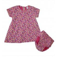 Бебешка рокля с гащички 68-80