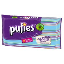 Pufies Fashion - Мокри кърпи Пуфис с Алое 64бр.