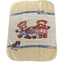 Зимно бебешко одеяло