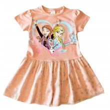 Детска рокля Ана и Елза 86-128