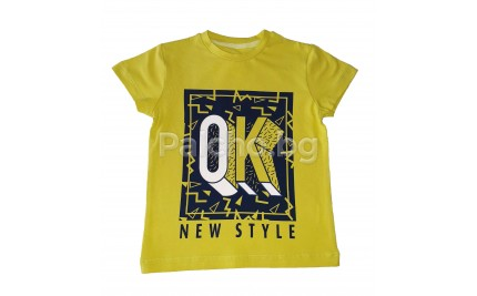 Лятна тениска за момче 92-134