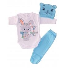 Бебешки комплект Зайко 56-62
