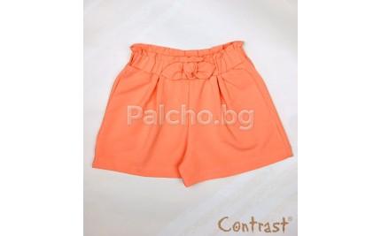 Къси панталони за момиче Контраст 104-152