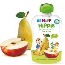 Hipp Bio Плодова закуска Круша и ябълка 100гр