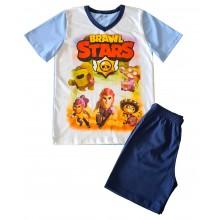 Лятна пижама за момче Brawl stars 122-152