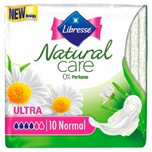Libresse Ultra Natural Care Normal Дамски превръзки 10бр