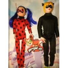 Комплект кукли Калинката и Котарака