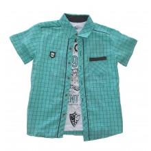 Комплект риза и тениска за момче 134-152