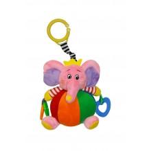 Lorelli Забавен слон в розово