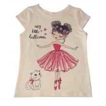 Лятна блуза за момиче 110-116