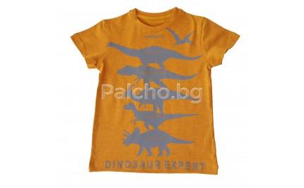 Тениска за момче Динозаври 92-134