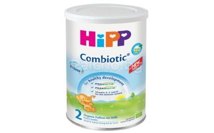Хип мляко - HIPP Combiotic 2 Био Мляко за бебета 6-12м. 350гр.