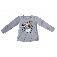 Блуза за момиче Little Queen 98-122