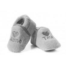 Attractive baby пантофки Сиви