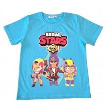 Тениска за момче Brawl Stars 110-134