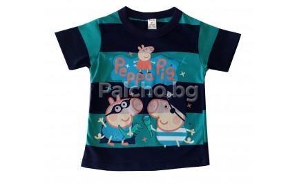 Тениска за момче Пепа Пиг 86-116