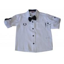 Риза с папионка 92-110