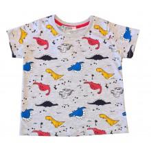 Лятна тениска за момче Динозаври 92-122