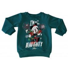 Детска ватирана блуза Мики Маус 80-110