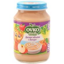 Ovko Десерт ябълки с йогурт 190гр.