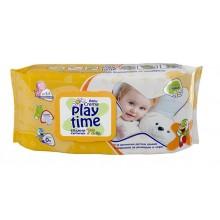 Play time Влажни кърпи с лайка 72бр.