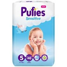 Pufies Sensitive 5 пелени 11-16кг. 48бр.