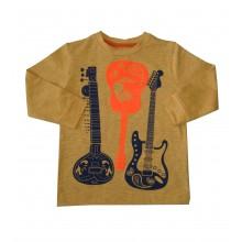 Блуза за момче Китари 86-116