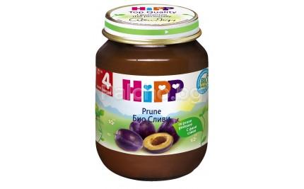 Хип пюре - Hipp Bio Сливи 125гр.