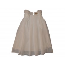 Бяла лятна рокля Белисима 74-92см
