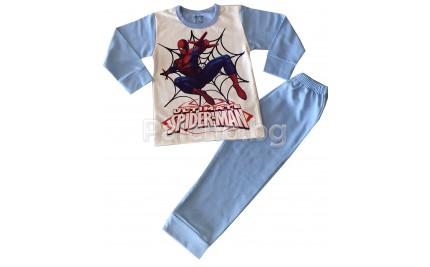 Ватирана пижама спайдърмен 98-128