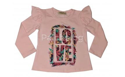 Детска блуза за момиче Мариела 86-116