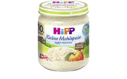 Хип Мляко с ориз и ябълка 200гр.