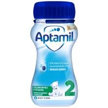 Аптамил 2 - APTAMIL 2 Бебешко мляко 6-12м. 200мл