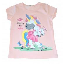 Блуза за момиче Еднорог 98-128