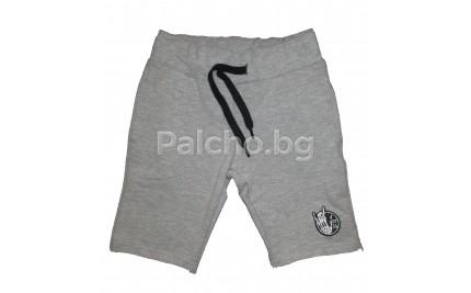 Къси панталони за момче сиви 92-152