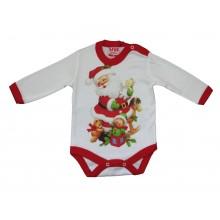 Коледно боди Дядо Коледа 56-68