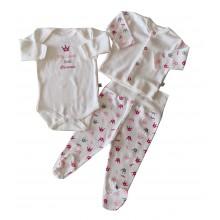 Бебешки комплект 3 части 50-62