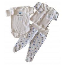 Комплект за бебе 3 части 50-62