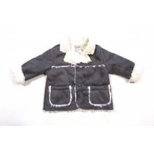 Контраст палто за момче 74-92 см