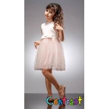 Контраст официална рокля Перла 80-140