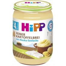 Хип пюре - Hipp Bio Картофено пюре с морска риба 190гр.