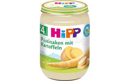 Хип пюре - Hipp Bio Пащърнак с картофи 190гр.
