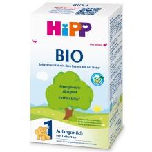 Хип Био мляко - HIPP 1 Bio Мляко за бебета 0-6м 600гр.
