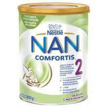 Нестле Нан Комфортис 2 - Nestle Nan 2 Comfortis Мляко за кърмачета 6м+ 800гр.
