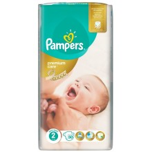 Pampers Premium Care 2 пелени 3-6кг. 50бр.