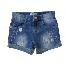 Breeze Къси дънкови панталони за момиче 128-158