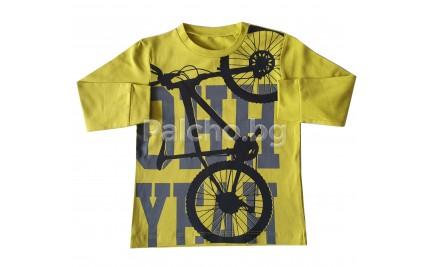 Детска блуза за момче Колело 92-116
